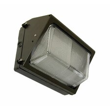 100W HPS Medium Wall Light in Bronze