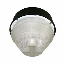 <strong>Deco Lighting</strong> 50W HPS Conical Garage Parking Light in Bronze