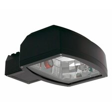 320W MHPS MT Architectural Flood Post Mount Head in Black
