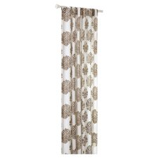 <strong>Madison Park</strong> Addison Anthro Burn Out Curtain Single Panel