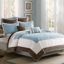 <strong>Madison Park</strong> Attingham 7 Piece Coverlet Set
