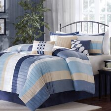 <strong>Madison Park</strong> Larson 7 Piece Comforter Set