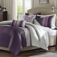 <strong>Madison Park</strong> Amherst 6 Piece Duvet Set