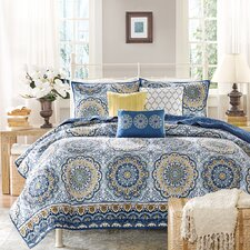 Tangiers 6 Piece Coverlet Set