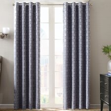 Chainlink Window Panel Pleated Shade