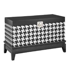 Houndstooth Storage Chest