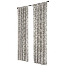 Delray Diamond Rod Pocket Curtain Panel
