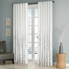 Andora Rod Pocket Curtain Single Panel