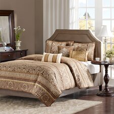 <strong>Madison Park</strong> Bellagio 6 Piece Coverlet Set
