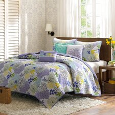 Emily 6 Piece Coverlet Set