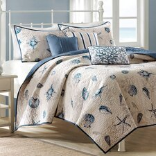 <strong>Madison Park</strong> Bayside 6 Piece Coverlet Set