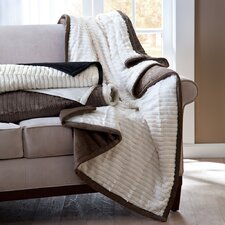 <strong>Madison Park</strong> Athens Herringbone Down Alternative Throw