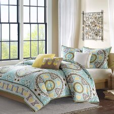 Samara 6 Piece Duvet Set