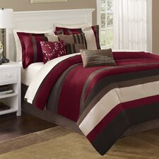 <strong>Madison Park</strong> Boulder Stripe 7 Piece Comforter Set