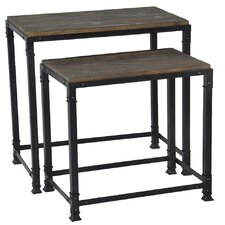 Cirque 2 Piece Nesting Table Set