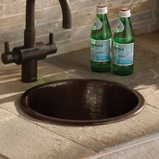 "12.5"" x 12.5"" Diego Hand Hammered Bar Sink"
