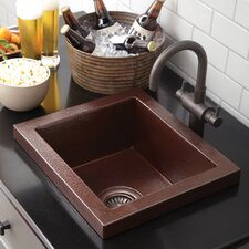 "17"" x 15"" Manhattan Bar Sink"