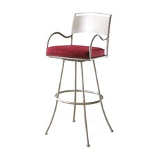 "Armada 34"" Swivel Bar Stool with Cushion"