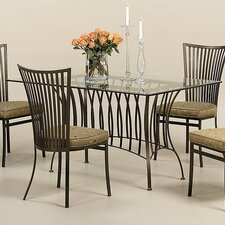 <strong>Johnston Casuals</strong> Phoenix 5 Piece Counter Height Dining Set