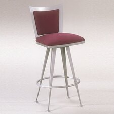 Excalibur Contemporary Swivel Barstool