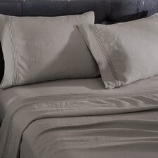 <strong>Wildon Home ®</strong> Linen 4 Piece Sheet Set