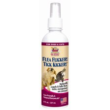 8 Oz Flea Flicker Tick Kicker Spray