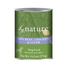 95% Beef Chicken Liver Wet Dog Food (Set of 12)