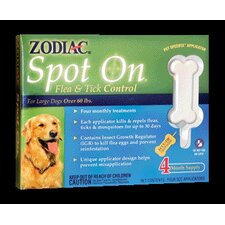Spot on Flea and Tick Control (Pack of 4)