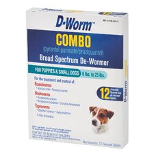 D-Worm Combo Broad Spectrum (Pack of 12)