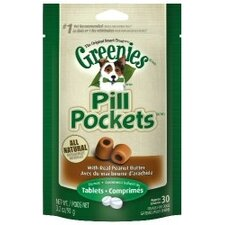 Pill Pockets Peanut Butter Dog Treat