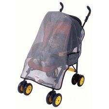 Generic Single Stroller Sun, Wind and Insect Cover