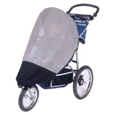 <strong>Sasha's Kiddie Products</strong> InStep and Schwinn Safari TT and Suburban Safari, Mall Cruiser Single Stroller Sun, Wind and Insect Cover