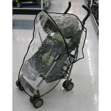 <strong>Sasha's Kiddie Products</strong> Small Lightweight Twin Handle Single Stroller Rain and Wind Cover