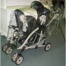 <strong>Sasha's Kiddie Products</strong> Triplet (Front to Back) Stroller Rain and Wind Cover