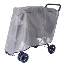Foundations Duo Double Tandem Stroller Sun, Wind and Insect Cover
