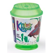 Kritter Keeper Round Fish Home Aquarium Bowl