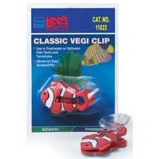 <strong>Lees Aquarium & Pet</strong> Clown Fish Veggie Clip