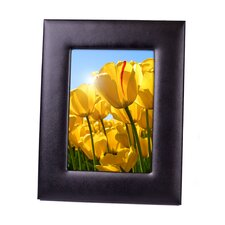 "Executive 5"" x 7"" Genuine Leather Picture Frame"