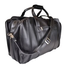 "Genuine Leather 21"" Sports Duffel Bag"