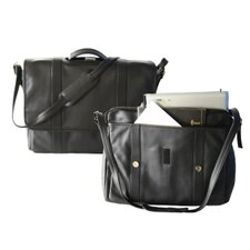 Deluxe Laptop Leather Briefcase
