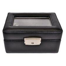 Genuine Leather Luxury Jewelry Watch Box