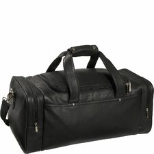 Luxury Genuine Leather Duffel Sports Bag Luggage