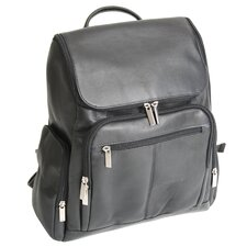 Luxury Genuine Leather Laptop Backpack