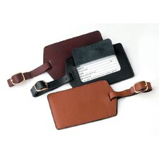 <strong>Royce Leather</strong> Leather Luggage Tag