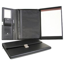 Nappa Padfolio File Organizer in Black