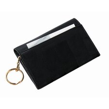<strong>Royce Leather</strong> Wallet with Removable Key Ring