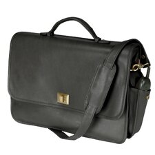 <strong>Royce Leather</strong> Executive Leather Briefcase