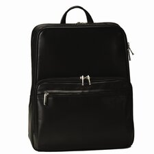 """Royce Leather 15"""" Laptop Backpack in Genuine Leather"""