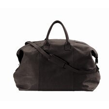 "20"" Leather Euro Travel Duffel"