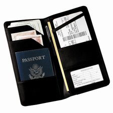<strong>Royce Leather</strong> Checkpoint Passport Case